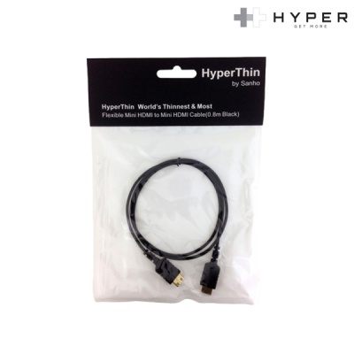 [Hyper] Mini HDMI to Mini HDMI 케이블