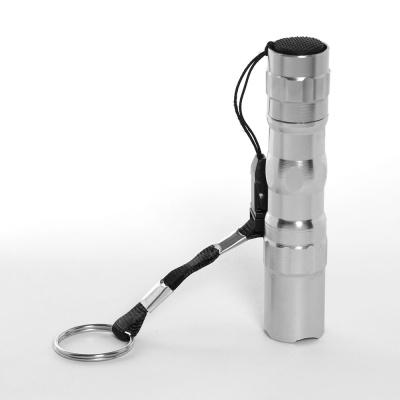 파워온 LED 슬림 손전등(실버)