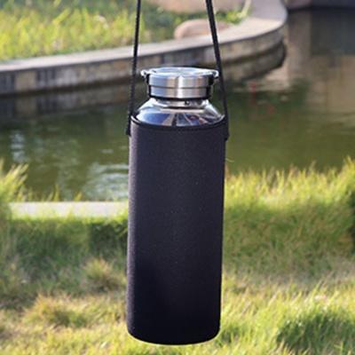 플러스 휴대용 유리물병(1.5L)