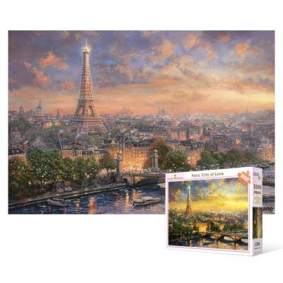 1000피스 직소퍼즐 - 사랑의 도시 파리