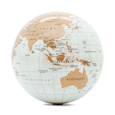 [럭키스] 회전 지구본 세계지도