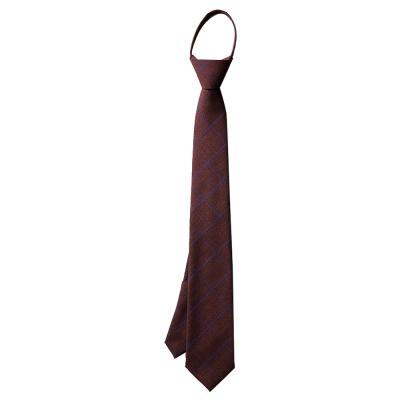 남자 체크 와인 자동 면접 넥타이