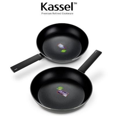 Kassel 루반 IH 인덕션겸용 프리미엄 후라이팬2종세트