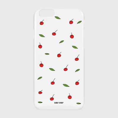 [어프어프] 하드/터프/슬라이드 Leaf cherries-white