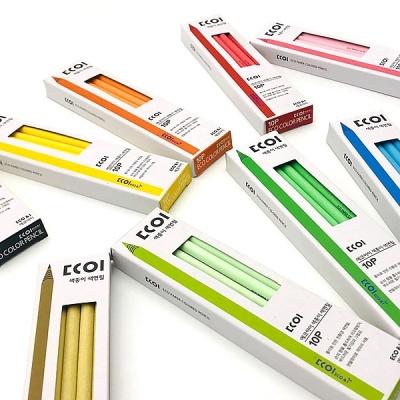 에코아이 색종이 색연필 10개입 [01340966]