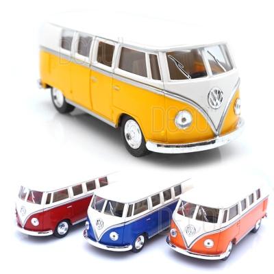 폭스바겐 아이보리탑 버스 미니카 다이캐스트 모형