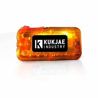 신제품 어깨경광등 KJ-TXT-03 시리즈(황-황색)