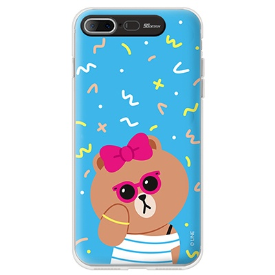 iPhone7 8/7 8 Plus LINE FRIENDS CHOCO VIVID