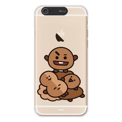 BT21 iPhone6/ iPhone6 Plus 슈키 라이팅 케이스(Soft)