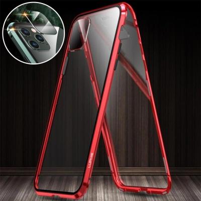 아이폰11 pro max 렌즈보호 메탈 자석 풀커버 케이스