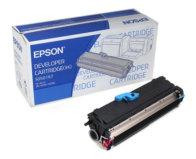엡손(EPSON) 토너 C13S050166 / Black /EPL-6200L/6200 Toner  3000매