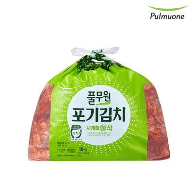 [풀무원] 사계절 아삭 포기김치 10kg
