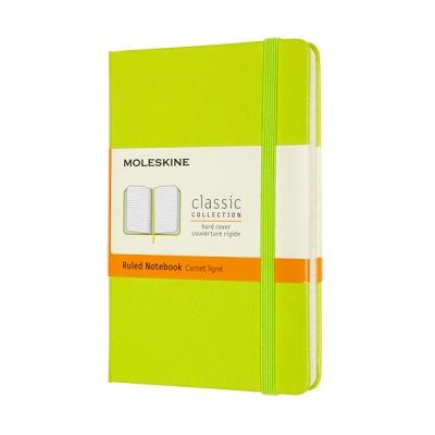 몰스킨 클래식노트-룰드/레몬 그린-하드 P
