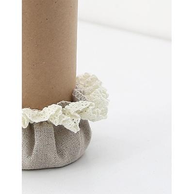 [CONZ] 린넨레이스 세발 의자발커버 3P