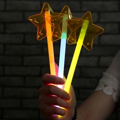 6p 블링팝 파티용 별 야광봉(22cmx7.5cm)