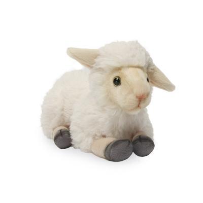 4504번 어린양크림색 Lamb Crouching Cream/27*13cm