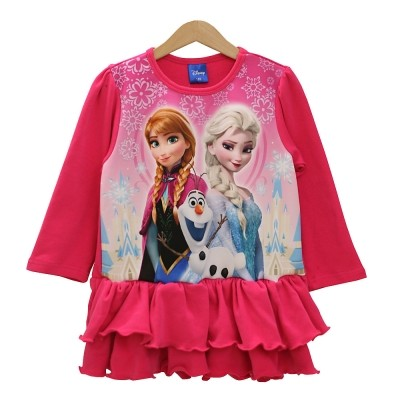 Disney 正品 Frozen double frill ops
