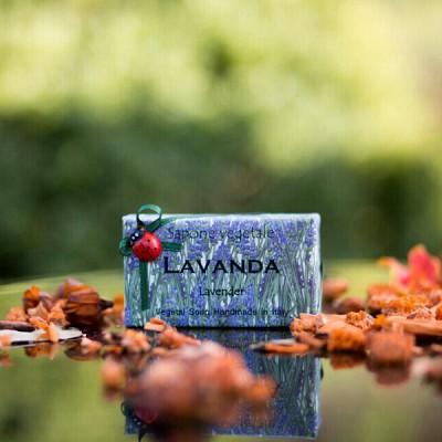 알키미아 천연수제비누 - 라벤더(LAVENDER) 그윽하고 은은한 향 무당벌레비누