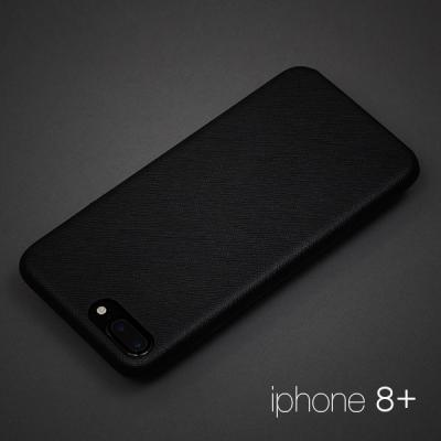 [매니퀸] 사피아노 스마트폰케이스 - 아이폰8+ 블랙