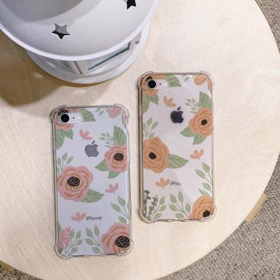 아이폰XS MAX 봄꽃 방탄케이스