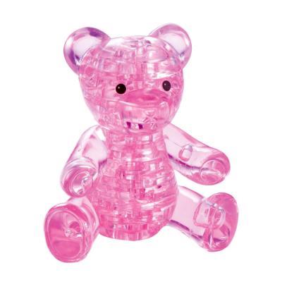 41피스 크리스탈퍼즐 - 테디베어 (핑크)