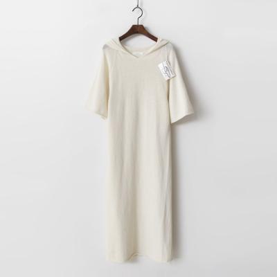 Laine Wool N Cashmere Hood Long Dress