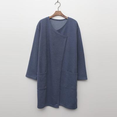 Simple Pocket Long Cardigan