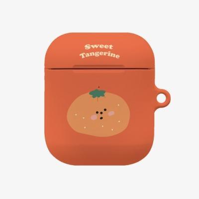 sweet tangerine 에어팟 하드케이스