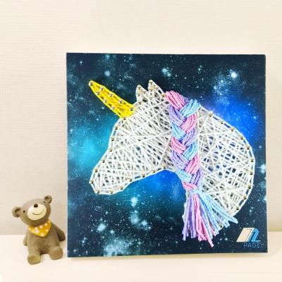 꼬마 유니콘 스트링아트 만들기 패키지 DIY (EVA)