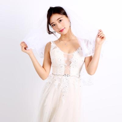 스몰 웨딩 베일(면사포)레이스