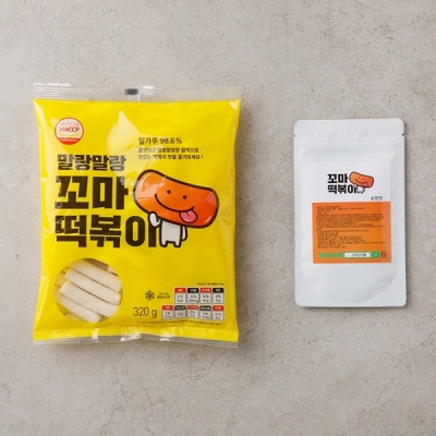 꼬마떡볶이 2인분 (떡+소스) 5가지맛 (택1)