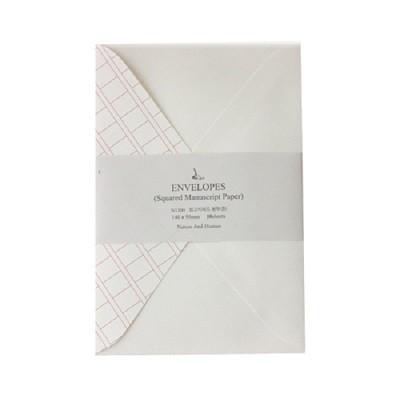 원고지레드 봉투세트 (중)
