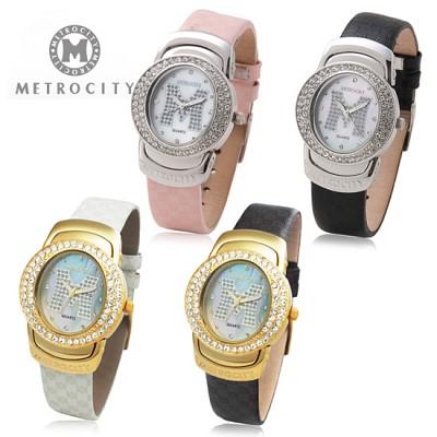 [METROCITY]메트로시티 남성/여성 손목시계  백화점 판매상품/AS가능 MTS0702L