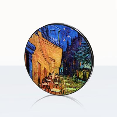 [고흐] 밤의 카페 테라스-무선충전 명화트윙클패드
