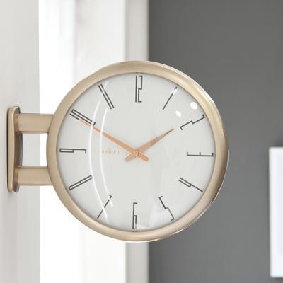 모던양면시계 샴페인골드