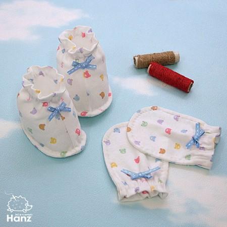 [DIY] 캔디베어 손발싸개(여름용, 4계절용) 만들기