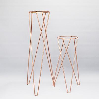 샤이니 화분 스탠드(H)-14.5(지름) x 60cm