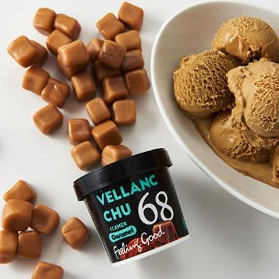 벨랑슈 저칼로리 아이스크림 카라멜 100ml 6개입