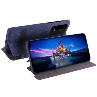 갤럭시S20 플러스 Ultra 체크 슬림 패브릭 플립케이스