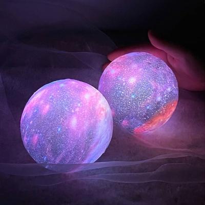 [리빙블리] 비치오라 LED 달 행성 무드등