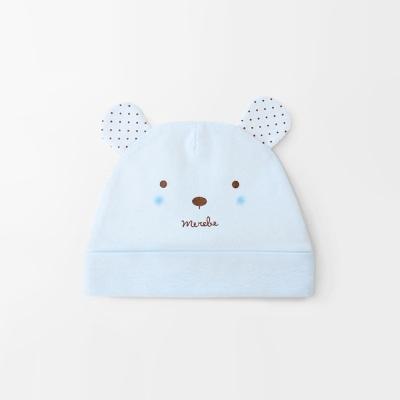 [메르베] 곰돌이M 신생아 아기 모자_사계절용