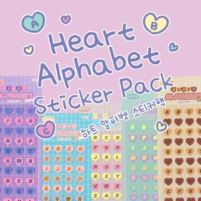 [오 젤리게임]MANTA BOX_Heart alphabet Pack
