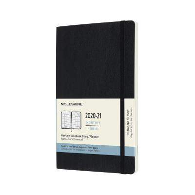 몰스킨 2021먼슬리(18M)/블랙 소프트 L