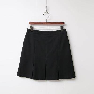 Modern Pleated Mini Skirt