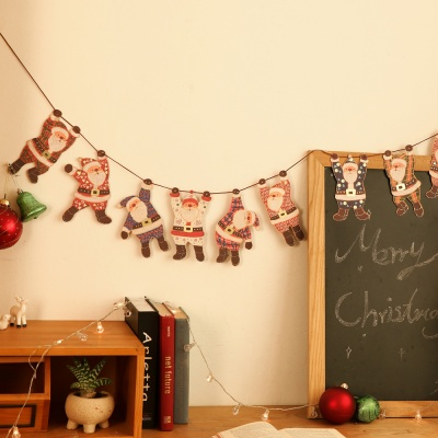 크리스마스 산타 가랜드