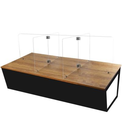 식당 칸막이 6인용 책상 가림막(1750*600mm)