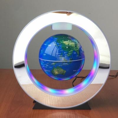 LED 자기부상 지구본 무중력 지구본 무드등 4인치 영문