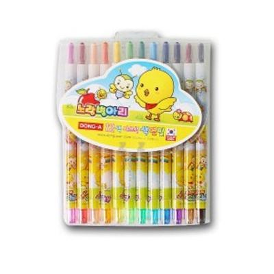 색연필 12색 색칠 미술 놀이 어린이 학용품