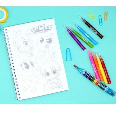 신비아파트 컬러 드로잉북 색연필 세트 색칠 놀이