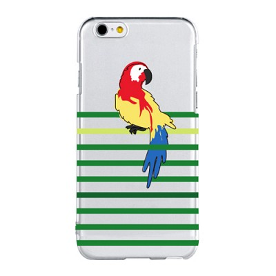 Stripe Parrot For Clearcase(아이폰케이스)